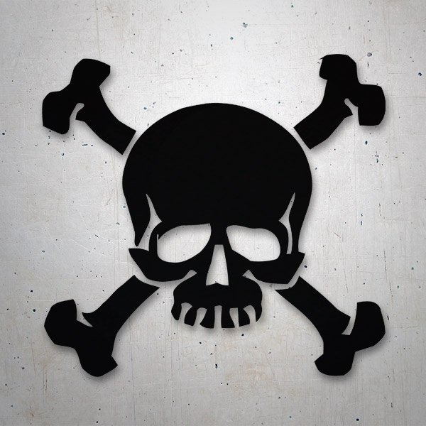 Car & Motorbike Stickers: Pirate Blackbeard