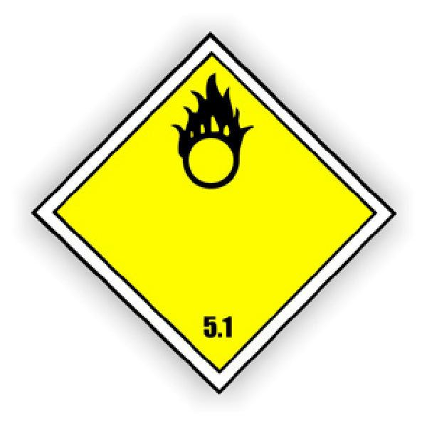 Car and Motorbike Stickers: Signal danger