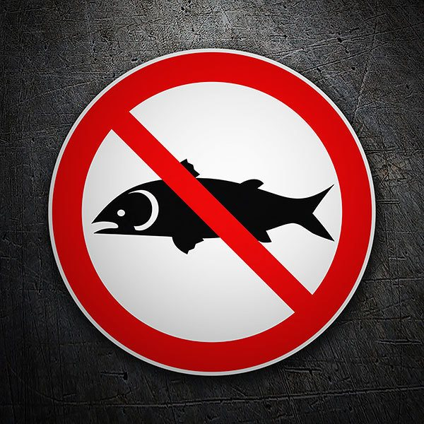 Car & Motorbike Stickers: No fish