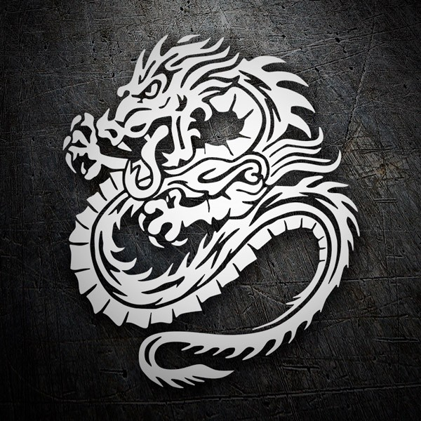 Car & Motorbike Stickers: Dragones
