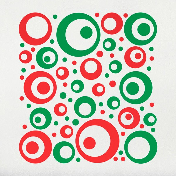Wall Stickers: Set 106X Circles