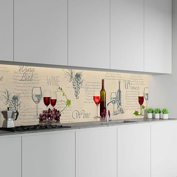 Wall Murals: Composition of a good wine