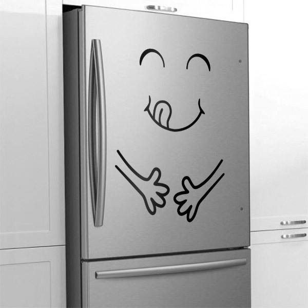 Wall Stickers: Satisfaction after Eating