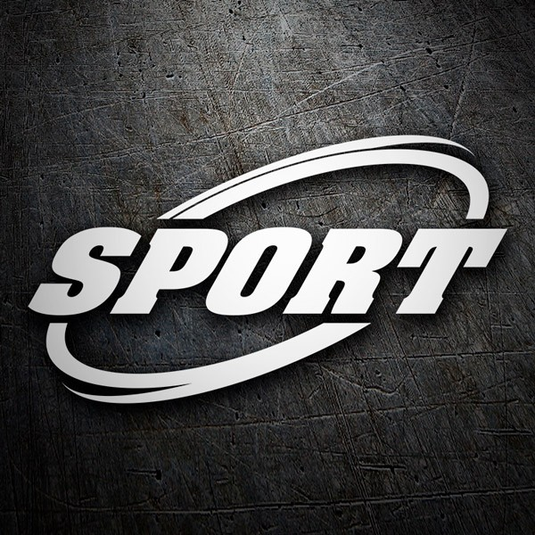 Car and Motorbike Stickers: Sport16