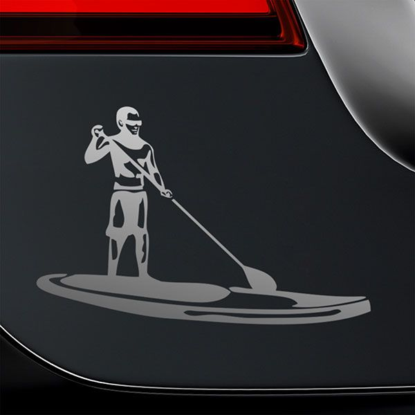 Car & Motorbike Stickers: Stand Up Paddle Surf