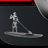 Car & Motorbike Stickers: Stand Up Paddle Surf 2
