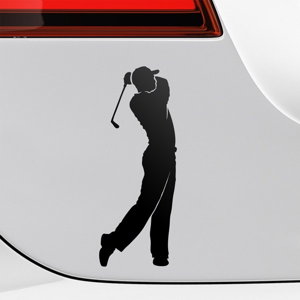 Car & Motorbike Stickers: Golf