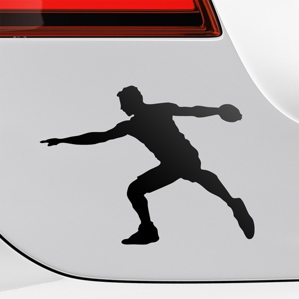Car & Motorbike Stickers: Discus