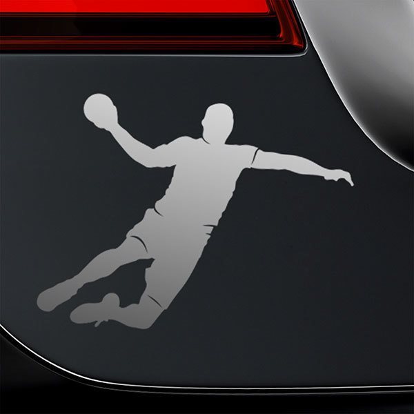 Car & Motorbike Stickers: Handball