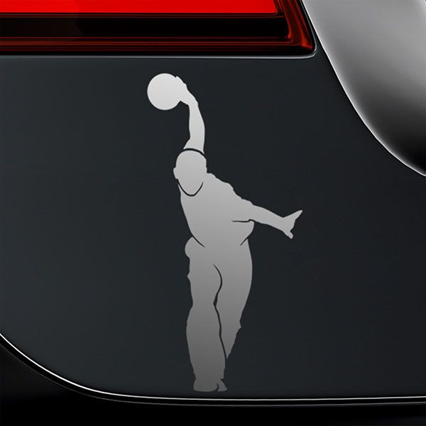Car & Motorbike Stickers: Bowling