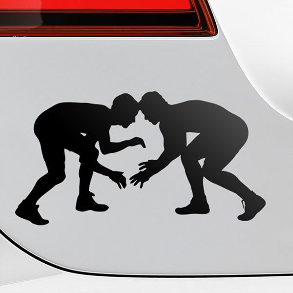 Car & Motorbike Stickers: Greco-Roman wrestling