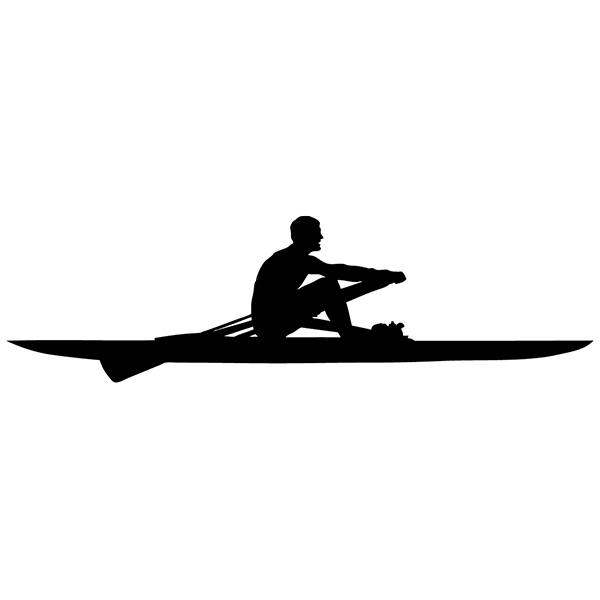 Car & Motorbike Stickers: Rowing competition