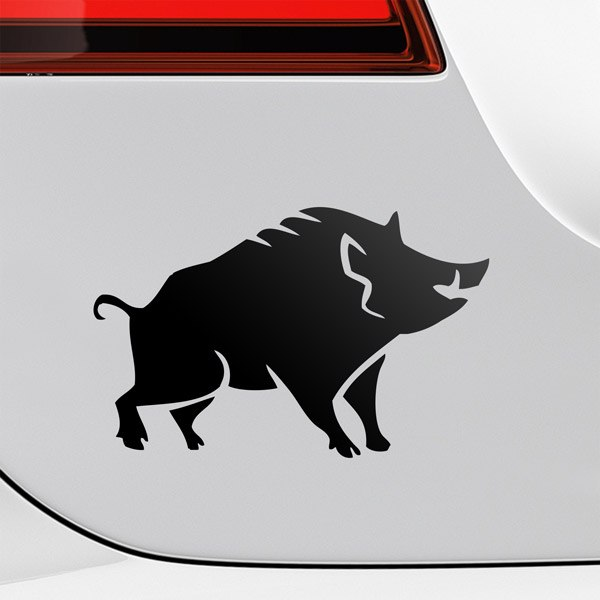 Car & Motorbike Stickers: Wild boar