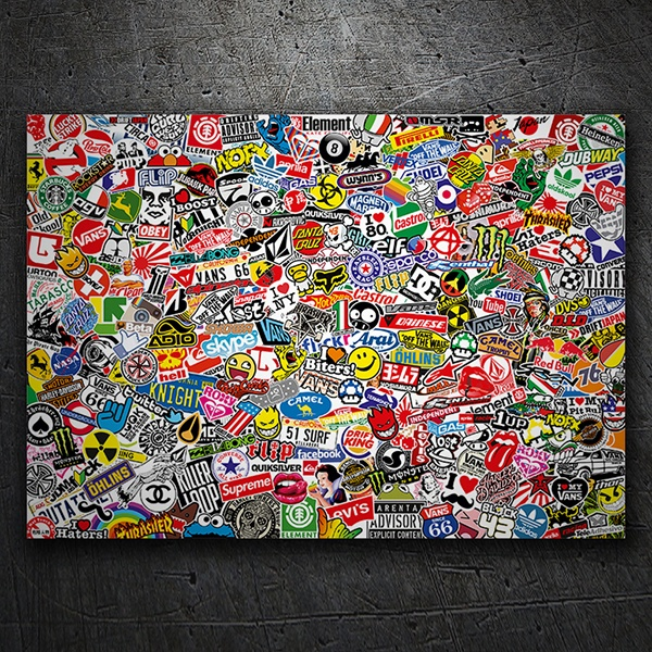 Car & Motorbike Stickers: Sticker Bomb XL