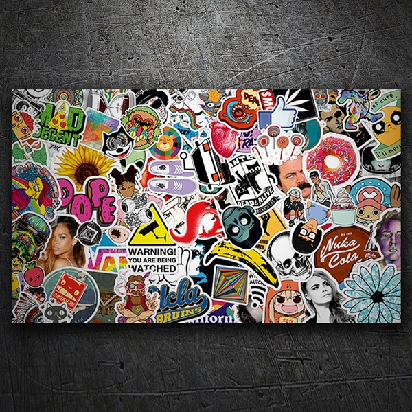 Car & Motorbike Stickers: Sticker Bomb 7