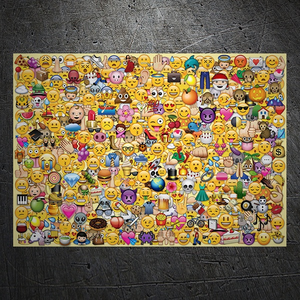 Car & Motorbike Stickers: Emoji Stickerbomb