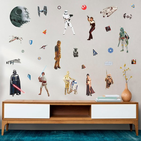 Wall Stickers: Star Wars Classic Wall Stickers