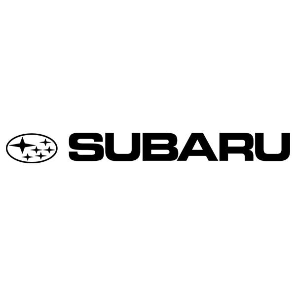 Car and Motorbike Stickers: Subaru