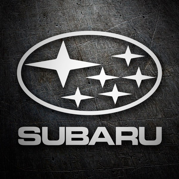 Car & Motorbike Stickers: Subaru