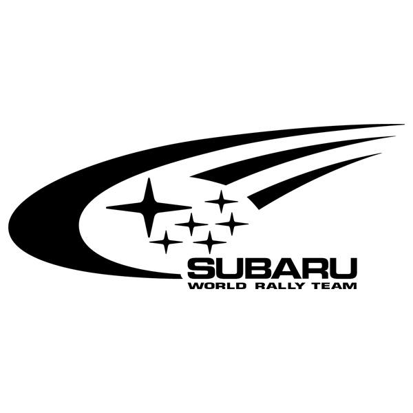 Car and Motorbike Stickers: Subaru Rally
