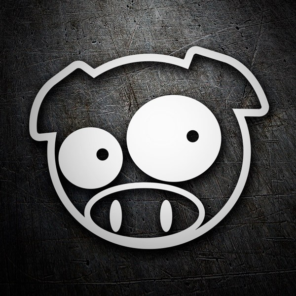 Car & Motorbike Stickers: Subaru Pig