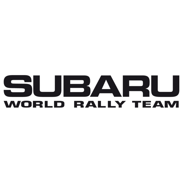 Car and Motorbike Stickers: Subaru World Rally Team