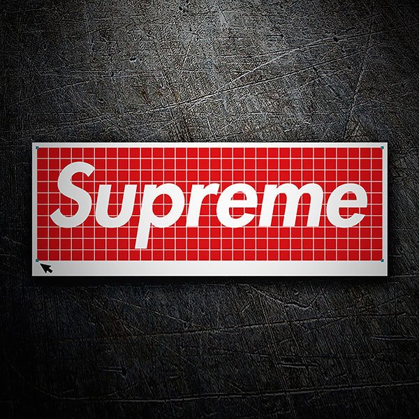 Car & Motorbike Stickers: Supreme Trim