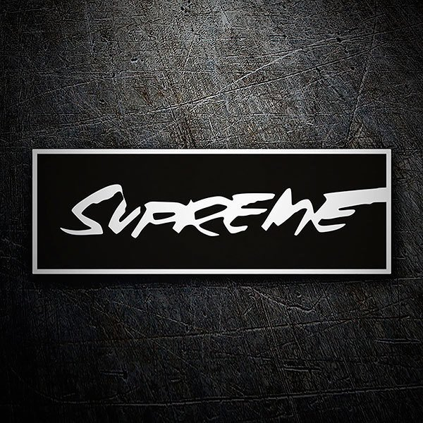 Car & Motorbike Stickers: Supreme graffiti