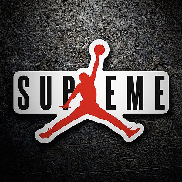 Car & Motorbike Stickers: Supreme Michael Jordan