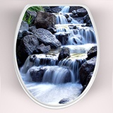 Wall Stickers: Top WC waterfall 3