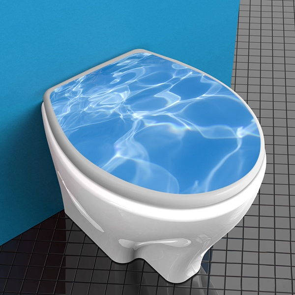 Wall Stickers: Top WC pool water