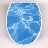 Wall Stickers: Top WC pool water 3