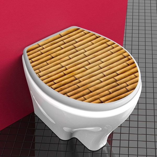 Wall Stickers: Top WC cane