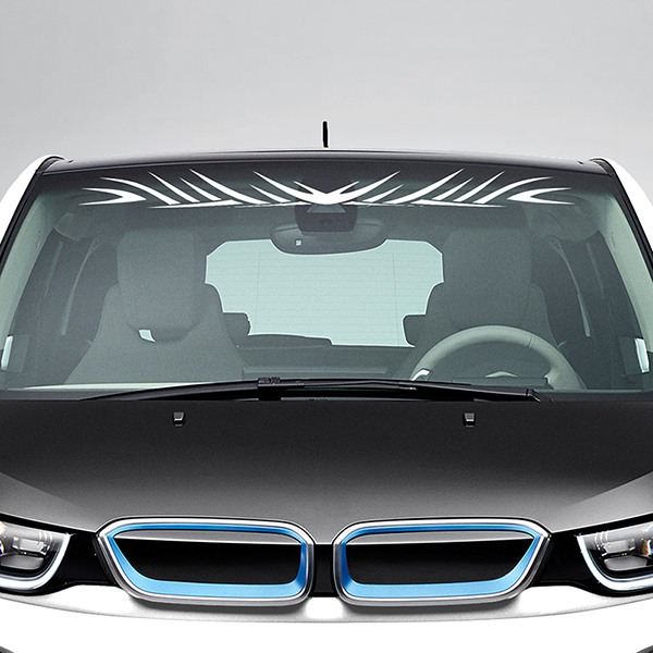 Car and Motorbike Stickers: Tribal Windshield Sunstrip 4