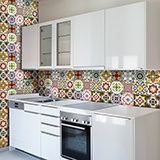 Wall Stickers: Kit 48 Tile stickers Classics 3