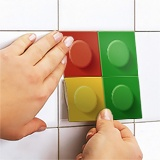 Wall Stickers: Kit 49 wall Tile stickers Lego 5