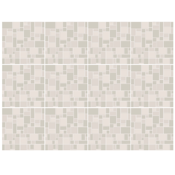 Wall Stickers: Kit 48 wall Tile stickers grey
