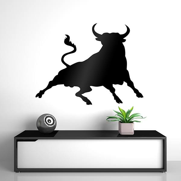 Wall Stickers: Angry Bull