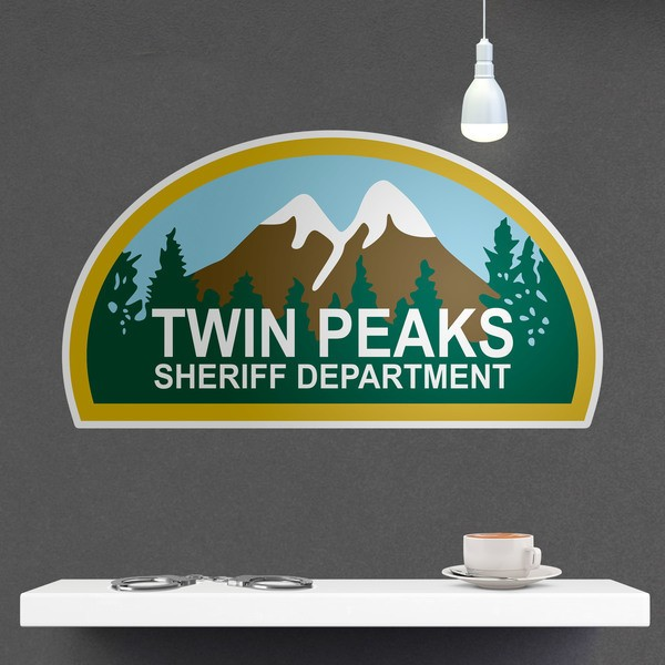 Wall Stickers: Twin Peaks Sheriff Department