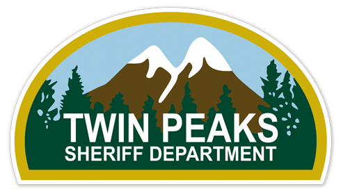 Wall Stickers Twin Peaks Sheriff Department