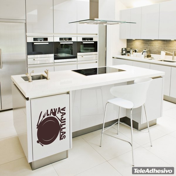 Wall Stickers: Dishwasher
