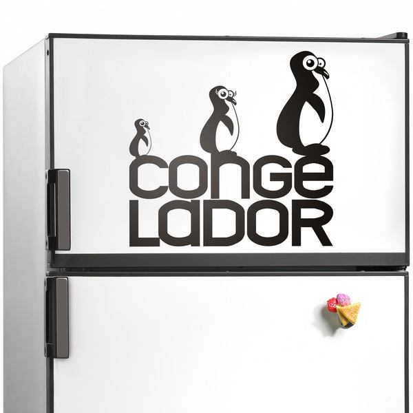 Wall Stickers: Freezer penguins