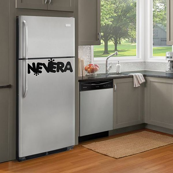 Wall Stickers: Refrigerator Ice