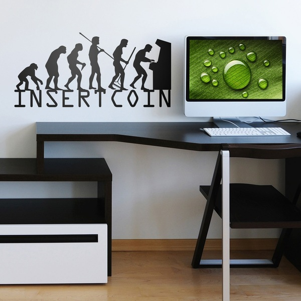 Wall Stickers: Evolucion InsertCoin