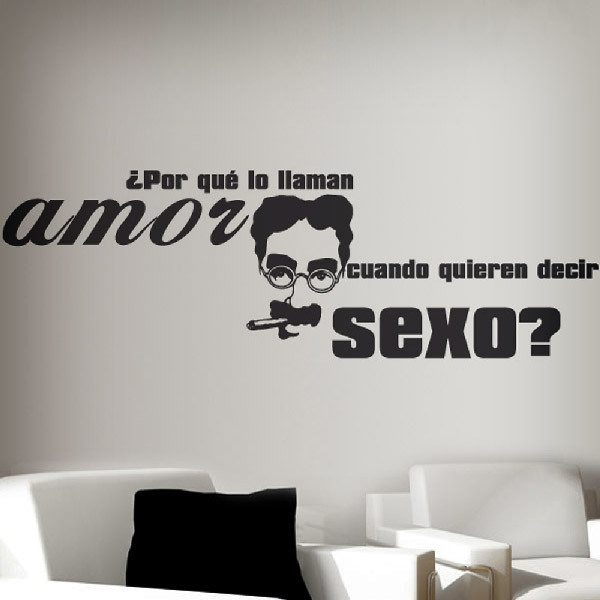 Wall Stickers: Love sex