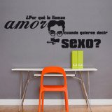Wall Stickers: Amor Sexo - Groucho Marx 3