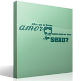Wall Stickers: Amor Sexo - Groucho Marx 5