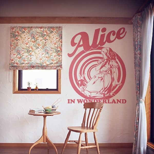Wall Stickers: Alice in wonderland