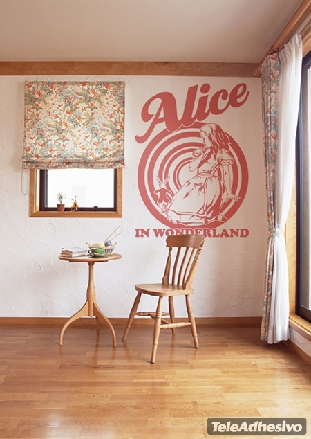 Wall Stickers: Alice In Wonderland Part 93