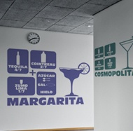 Wall Stickers: Cocktail Margarita 2